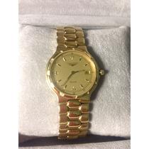 Reloj Longines Modelo Conquest Original Enchapado En Oro