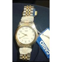 Reloj Casio Original Caballero Plata/dorado Modelo Mtp1129