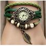 Reloj Pulsera Vintage Cuero Dama Relojes