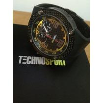 Reloj Technosport De Hombre Negro