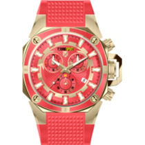 Reloj Technosport Ts-100-40 Color Rojo Unisex