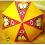 Paraguas Garfield Para Niñas - Muy Resistentes!