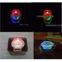 Reloj Iluminacion Led Power Sport Unisex 7 Funciones