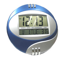 Reloj Digital Paredfecha Calendario Pantalla Grande