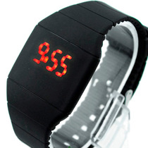 Relojes Led Silicon Unisex Pantalla Tactil Digital Touch Lcd