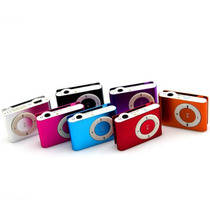 Reproductor Mp3 Shuffle Ranura Micro Sd Hasta 8gb Tipo Ipod