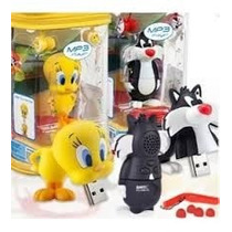 Reproductor Mp3 Emtec Player 8gb Looney Tunes