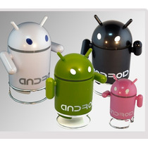 Corneta Portatil Robot Android Soporta Microsd