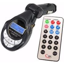 Reproductor Trasmisor Mp3 Para Carro Radio Fm Micro Sd Usb