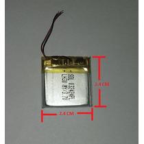 Bateria De Reemplazo Para Mp3 3.7v 90mah