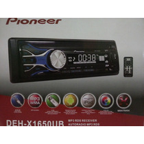 Reproductor Pioneer Usb / Aux / Sd / Con Control