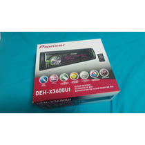 Reproductor Pioneer Cd Mp3 Ipod Usb Android Mod Deh-x3600ui
