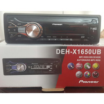 Reproductor Pioneer Usb/sd/fm/aux