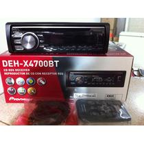 Radio Reproductor Pioneer Deh-x4700bt