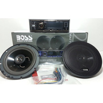Reproductor Boss Usb/aux/mp3/fm Con Cornetas 6.5 Boss