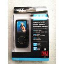 Mp3 Coby 4 Gb Touchscreen Nuevo