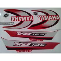 Kit Calcomanias Yb 125 Yamaha