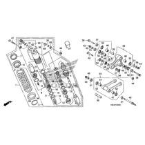 Piezas De Suspension Trasera Honda Crf 250 Crf 450