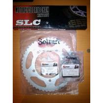 Kit Relacion O Rodamiento Suzuki Vstrom 650 / 1000