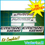 Kit 6 Calcomanias Moto Scooter Empire Matrix Elegance 150 V2