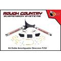 Rough Country Kit Doble Amortiguador Direccion F-250