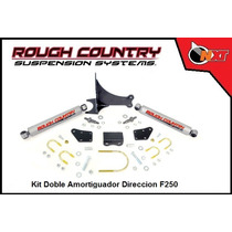 Rough Country Kit Doble Amortiguador Direccion F-250