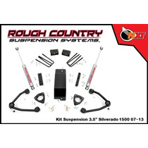 Rough Country Kit Suspensión 3.5plg Silverado 07-13