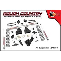 Rough Country Kit Suspensión 4.5plg F-250 Super Duty 11-14