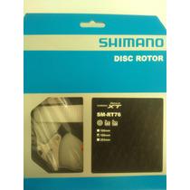 Disco Rotor Shimano Deore Xt (sm-rt76) 180mm 6 Tornillos