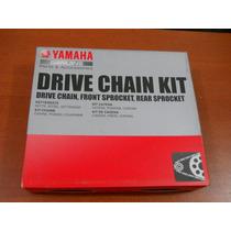 Kit Cadena Moto Yamaha Xt600 Cadena 520 V6 105 Eslabones