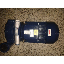 Bomba De Agua Centrífuga 7,5 Hp, Motor Siemens Ihm.