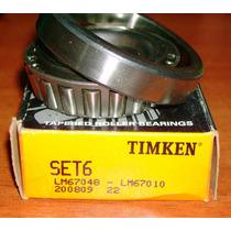 Rodamiento Timken Set6 Lm67048 - Lm670 10