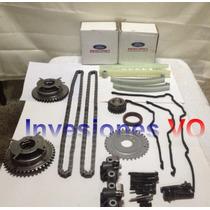 Kit Cadena Tiempo Explorer 4.6 L 3v Ford Original Completo