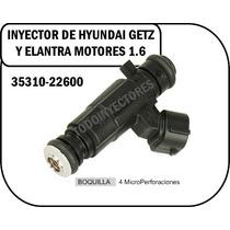 Inyector De Hyundai Getz Y Elantra Motores 1.6 353310-22600