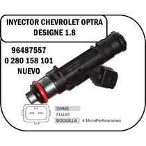Inyector De Optra Desing 1.8 Nuevo 96487557 0280158101