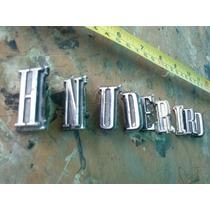 Letras Ford Thunderbird Faltan 2 T Y B