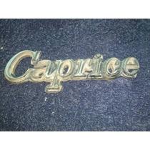 Emblema Usado Caprice Chevrolet Plastico