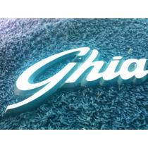 Emblema Maleta Ford Corcel Del Rey Vesion Ghia