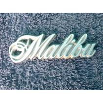 Emblema Chevrolet Malibu Guardafango Trasero