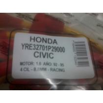 Cables Para Bujias Racing Honda Civic 1.6, 92-95