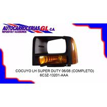 Aro Faro Con Cocuyo Delantero Izquierdo Ford Super Duty 06