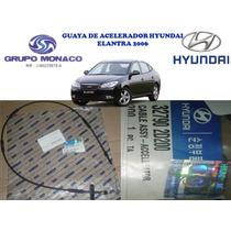 Gmo Guaya Acelerador Hyundai Elantra 2006