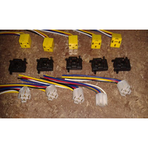 Conector Socate Relay H4