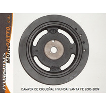 Damper De Cigueñal Hyundai Santa Fe 2006-2009