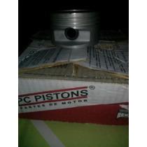 Pistones Con Anillos De Monza 2000 Std