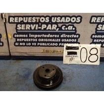 Polea De Damper Usada Original Chevrolet 305/350 Tbi