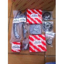 Kit Cadena Tiempo Yaris 06 Up 1.3 2znfe Original Toyota 7 Pz