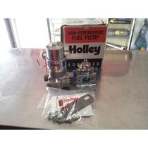 Bomba De Gasolina Con Regulador Holley Azul 110 Gph