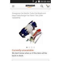 Turbo Electrico Universal Para Intake