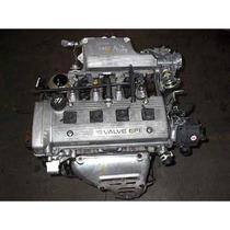 Motor 7/8 Usado Toyota Corolla 1.6 99-02 Inyeccion Sin Caja